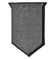 sable shield color are represented by crossed vector image vector image
