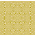 seamless floral greek gold pattern on a white vector image vector image