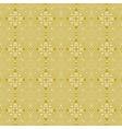 Seamless floral greek gold pattern on a white