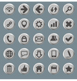 Set of the web icons vector image