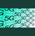 5g network high speed new wireless internet for vector image vector image