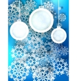 Abstract 3D Baubles Christmas background EPS10 vector image