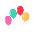 balloon in cartoon style bunch balloons vector image vector image
