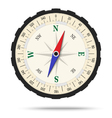 Classic compass isolated vector image vector image