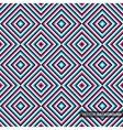 Geometric colorful pattern - seamless background vector image