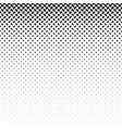 monochrome geometric halftone ellipse pattern vector image vector image