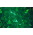 mosaic green background vector image vector image