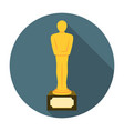 Movie award flat icon vector image vector image