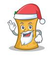 santa kebab wrap character cartoon vector image vector image