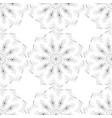 seamless texture pattern art flowers vector image vector image
