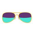 stylish sunglasses vector image vector image