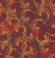 Abstract seamless floral colorful background vector image