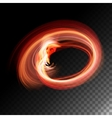 Transparent Flame vector image
