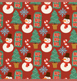 Christmas pine tree cartoon green winter
