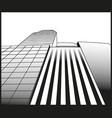 city skyscrapers buildings urban vector image vector image