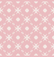 elegant minimalist floral seamless pattern vector image vector image