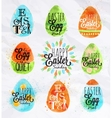 Happy easter egg vector image vector image