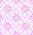 Pink complicated layered seamless vector image