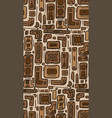 seamless texture with tribal doodle pattern from vector image vector image