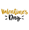 valentines day isolated poster hand drawn style vector image