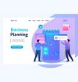 entrepreneurs preparation business planning vector image