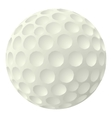 Golf ball icon cartoon style vector image