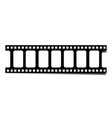 realistic filmstrip with shadow vector image vector image