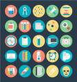 Science Colored Icons 2 vector image vector image