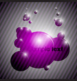 colorful bubble background eps10 vector image vector image