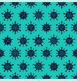coronavirus seamless pattern different kinds of vector image