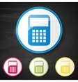 Web element Calculator vector image