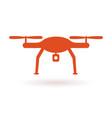 wifi drone icon vector image
