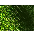 Abstract dot green mosaic background EPS 8 vector image vector image