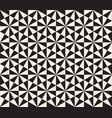abstract geometric pattern in black and white vector image vector image