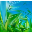 blue abstract background smooth metal plate vector image