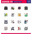 coronavirus precaution tips icon for healthcare vector image vector image
