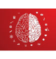 Creative brain Idea vector image