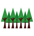 tree icon image vector image vector image