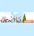 business people celebrating corporate party vector image vector image