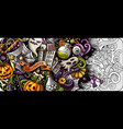 cartoon cute colorful hand drawn doodles vector image vector image