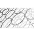 group oil barrels rendering 3d vector image