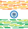 happy republic day banner design vector image vector image
