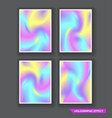 holography polarisation abstract vector image vector image