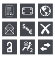 Icons for Web Design set 32 vector image