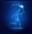 marathon man vector image vector image