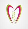 Mother care logo eps vector image vector image