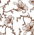 Pattern flower vector image