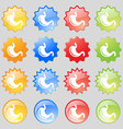 Stomach icon sign Big set of 16 colorful modern vector image vector image