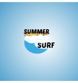 surfing logo vector image vector image