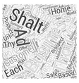 The Commandments of Online Business Word Cloud
